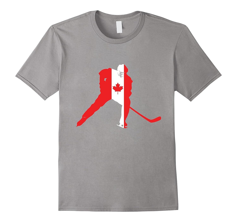 Canada Ice Hockey Shirt Canadian Player Love Team Stick Puck-TH