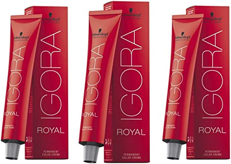 Tinte Schwarzkopf Igora Royal 6-12, 3 de 60 ml