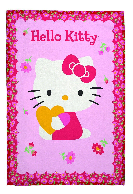Meri Meri Hello Kitty Daisy Tea Towel 45-1374