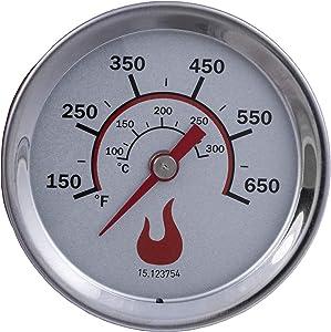 Broil 8566083 Replacement Temperature Gauge, 3 Inch Diameter