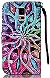 Galaxy S5 Case, Flip Cover Galaxy S5 Case Folio