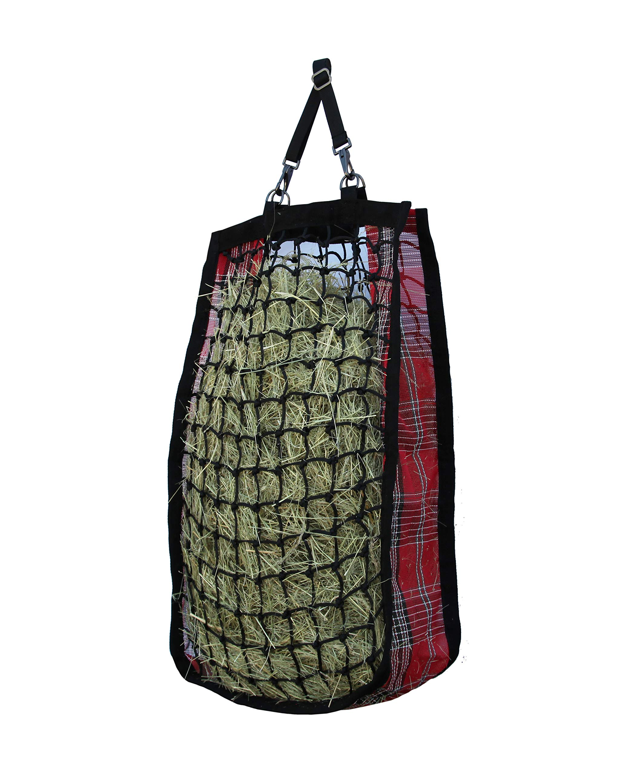 Kensington Slow Feed Mesh Net Feeder for Horses - Designed to Hold Two Large Flakes -  Reduce Horse Feeding Anxiety and Behavioral Issues by Kensington Protective Products