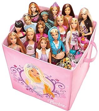 Barbie Doll Expandable Storage Case For Barbie Dolls