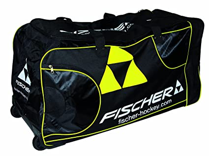 Amazon.com: Fischer Hockey Junior Pro jugador bolsa rueda ...