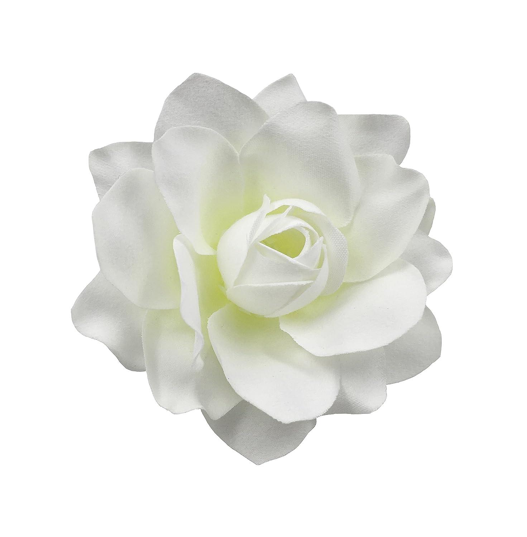 Durable Modeling Bonitagirl White Gardenia Flower Hair Clip