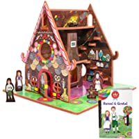 Hansel and Gretel Toy House and Storybook