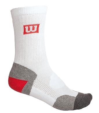 Wilson WRW2D2W10 - Calcetín unisex, multicolor, talla NS