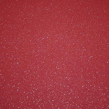 ps international catherine lansfield uni muster tapete modern glitzer motiv rot 02403 74 - Tapete Rot Muster