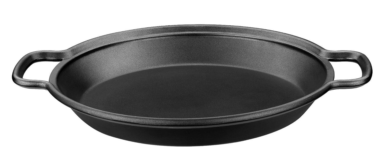 Monix Solid+ - Paellera 36 cm de aluminio fundido con antiadherente Teflon® Classic.: Amazon.es: Hogar