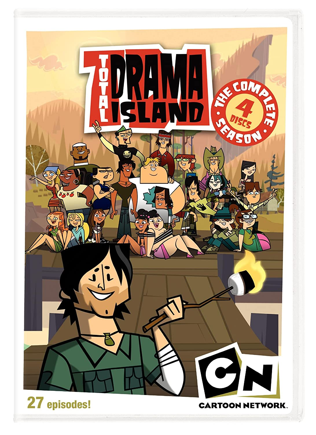 Amazoncom Total Drama Island The Complete Season 1