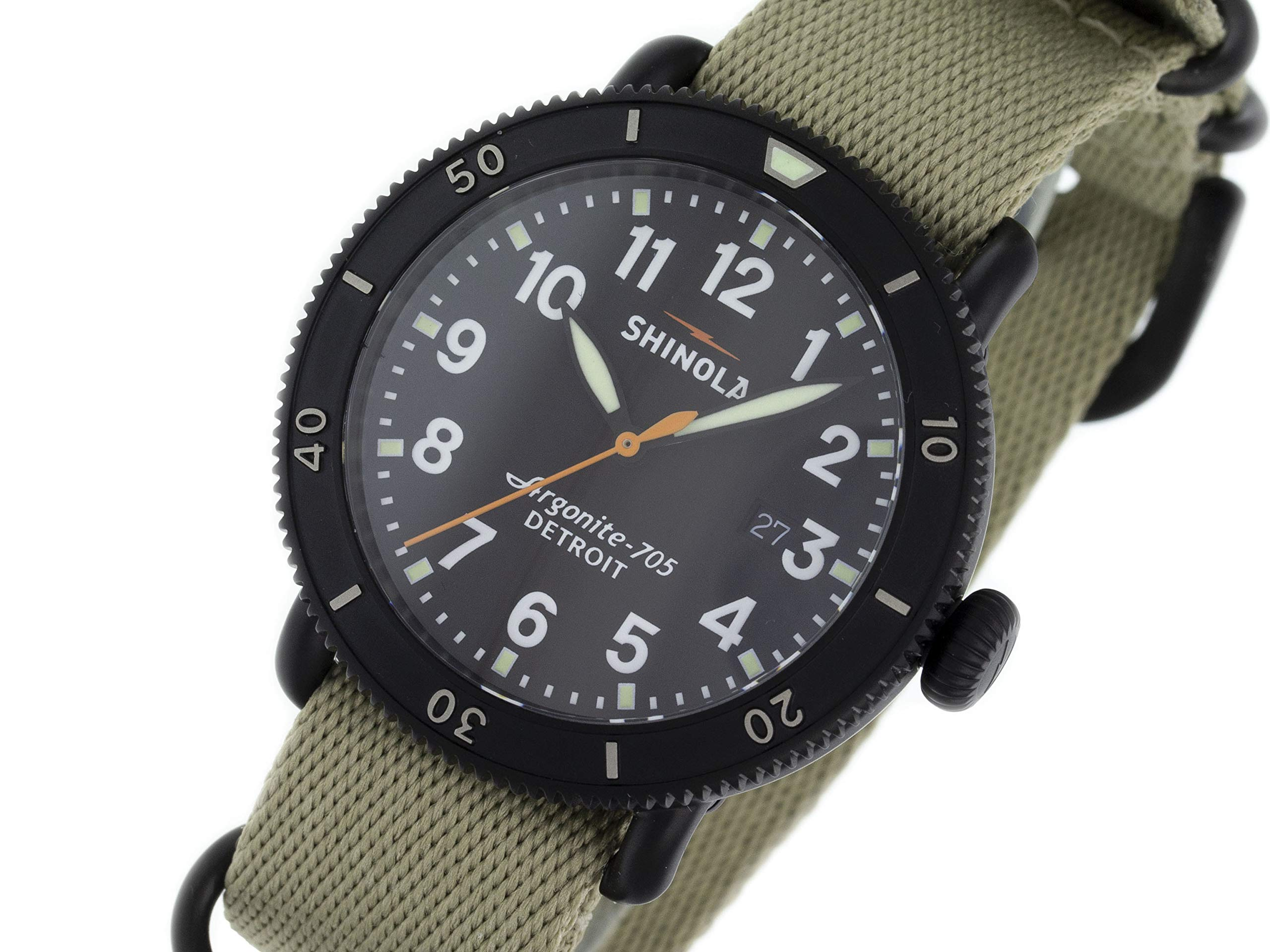 Shinola The Runwell Quartz Male Watch 10000086 (Certified Pre-Owned)