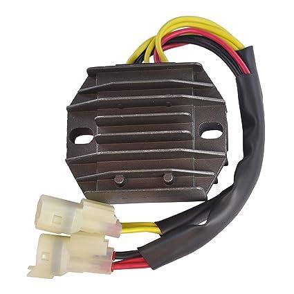 Amazon Voltage Regulator Rectifier For Suzuki Lta Ltf 500 F. Voltage Regulator Rectifier For Suzuki Lta Ltf 500 F Polaris Predator Outlaw 450 525. ATV. Suzuki ATV Rectifier Wiring Diagram At Scoala.co