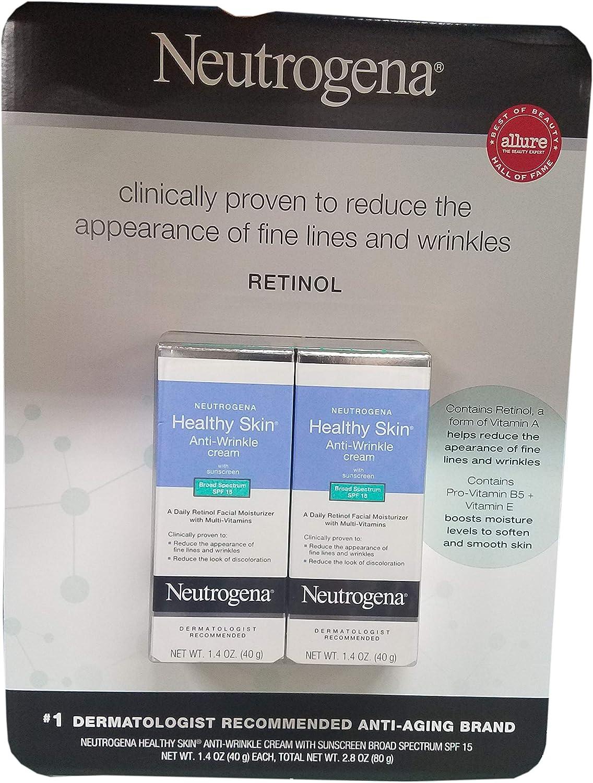 Neutrogena Healthy Skin Moisturizer With Spf 15, 2.8 Ounce