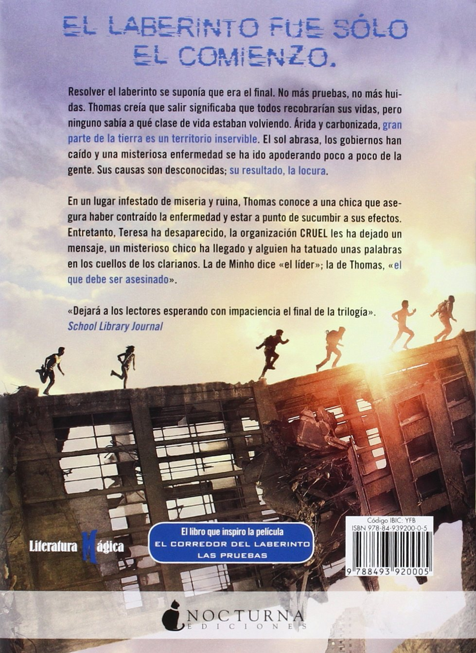 Las pruebas (Literatura Mágica): Amazon.es: James Dashner, Noemí Risco  Mateo: Libros