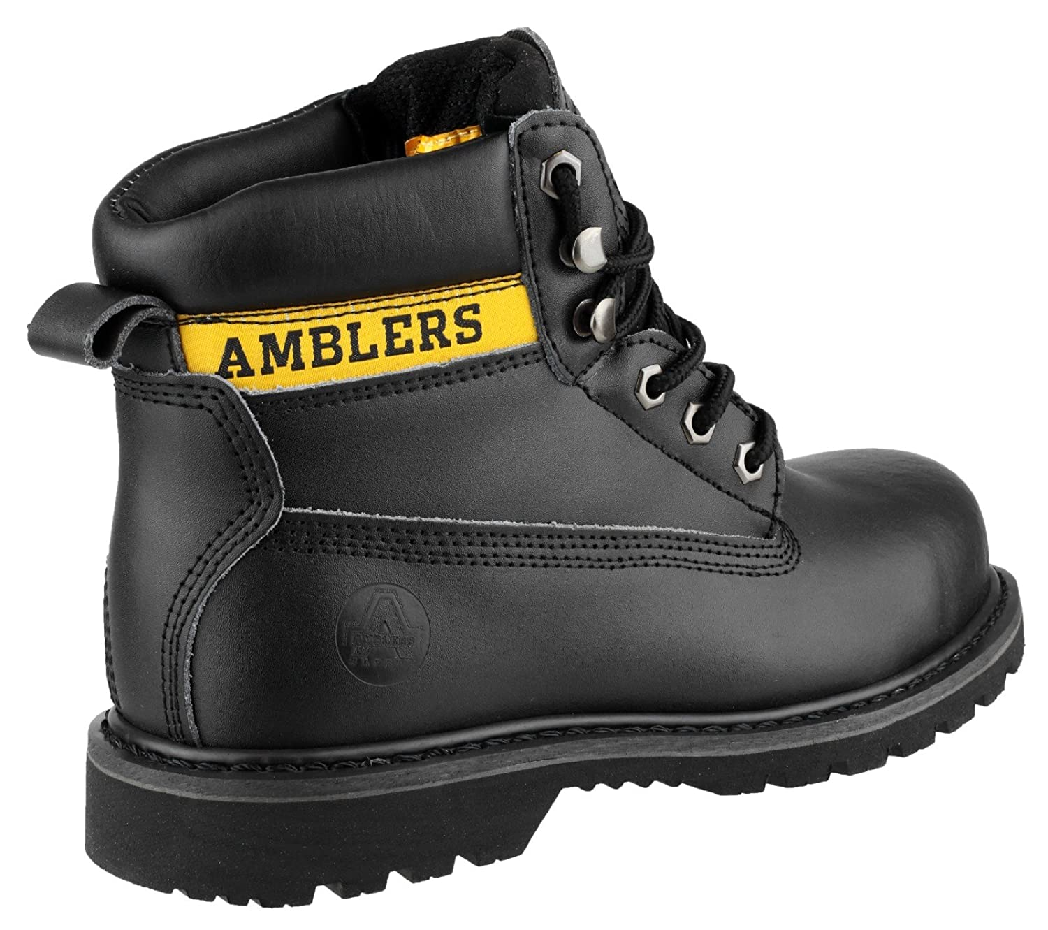 2535c1a6219 Amblers Safety FS9 Unisex SB SRA Steel Safety Boots Black