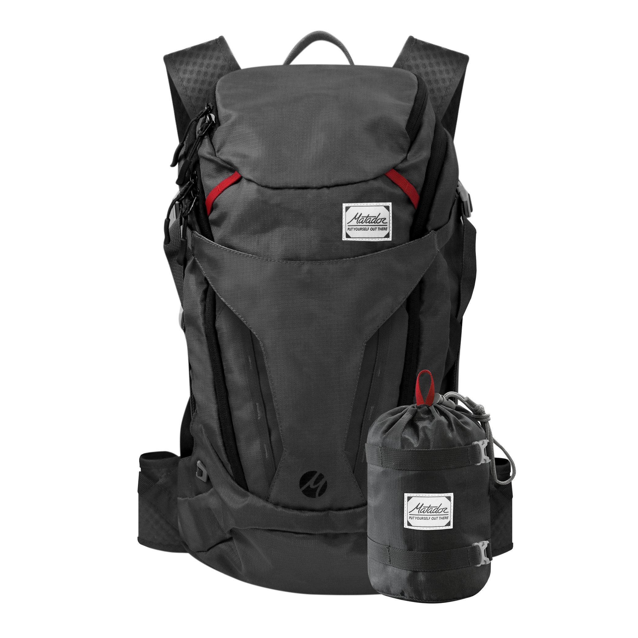 Matador Beast 28 Liter Full Size Packable Technical Backpack Grey by Matador
