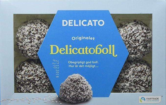 kalorier i delicatoboll