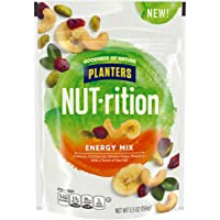 Planters NUT-rition Energy Mix With Dried Cranberries, Lightly Salted, 5.5 oz Bag