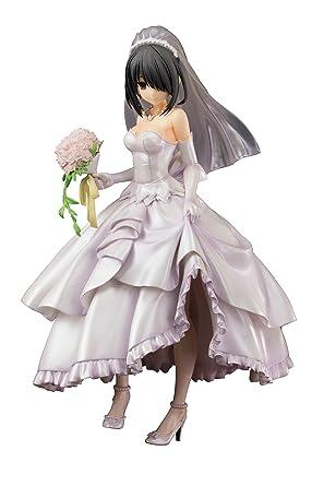 Date A Live Statue 1 8 Kurumi Tokisaki Wedding Ver 22 Cm Pulchra