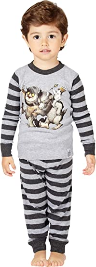 Intimo Toddler Boys Where The Wild Things Are Pajamas Book Sleepwear Pjs