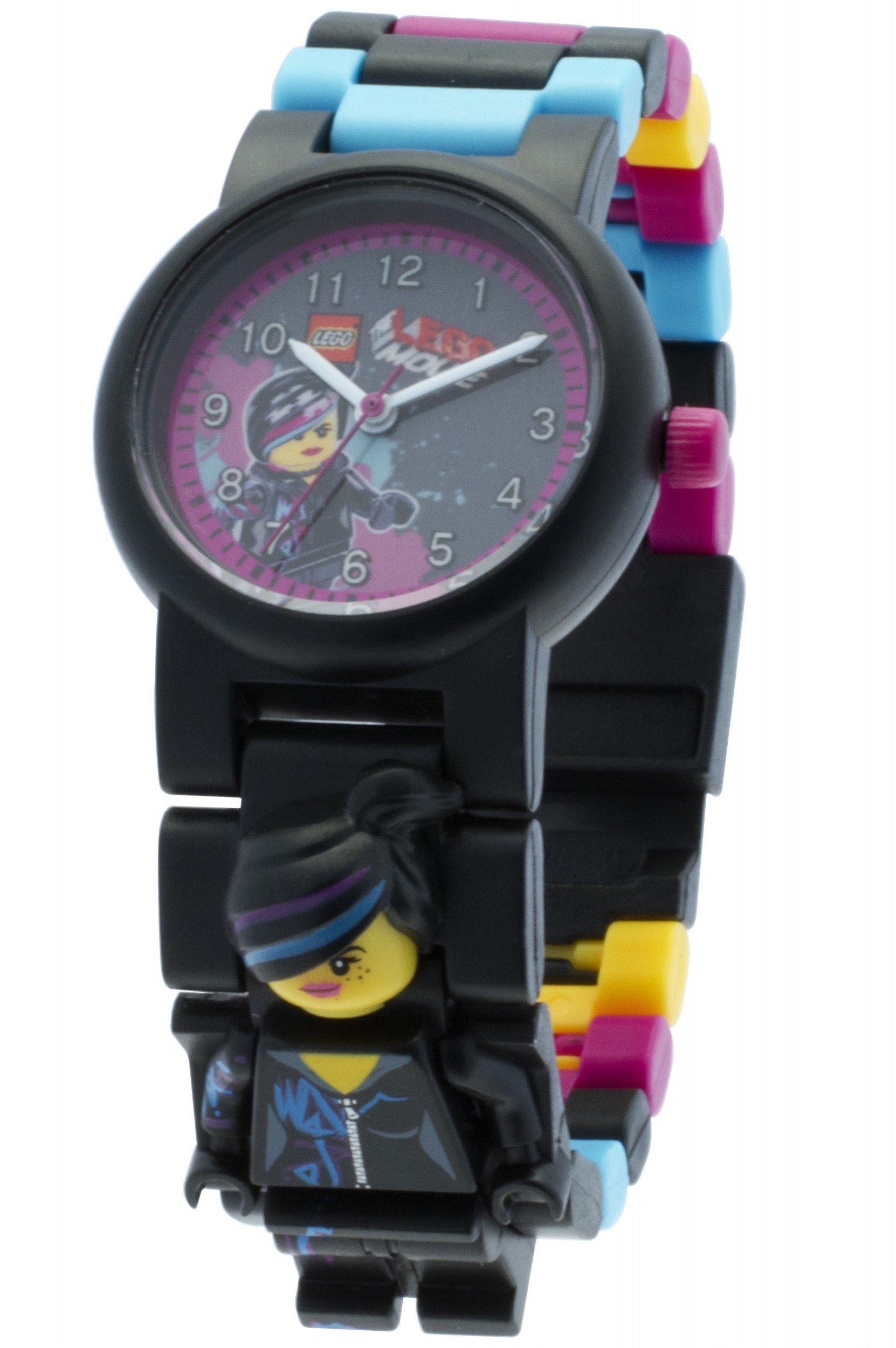 LEGO Kids' 8020233 LEGO Movie Wyldstyle Plastic Minifigure Link Watch