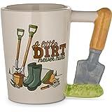 Decodyne Garden Series Coffee Mug - Novelty Coffee Mugs (Trowel)