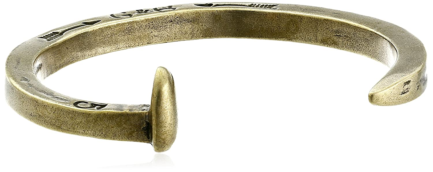 Giles and Brother Men's The Original Railroad Spike Cuff Bracelet GBB0014-M