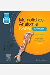 Mémofiches Anatomie Netter - Membres (Hors collection) (French Edition) Kindle Edition