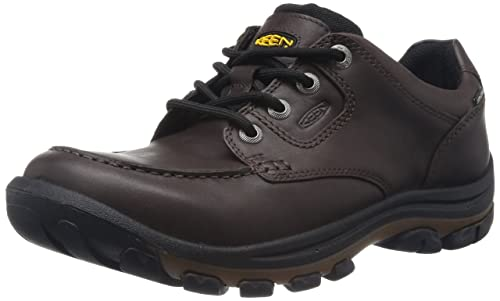 Keen Men's Nopo Lace Shoe,Brown Full Grain,7 ...