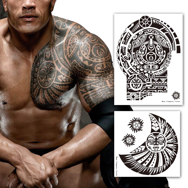 Leoars Extra Large Temporary Tattoo Similar The Rock Arm
