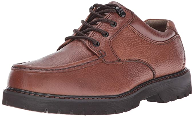 Dockers Glacier Hombre Castaño claro Piel Mocasines Zapatos Talla uevo EU 43: Amazon.es: Ropa y accesorios