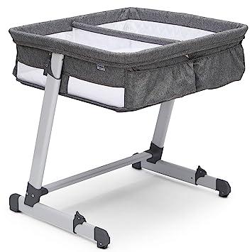 Simmons Kids Oval City Sleeper Bassinet Grey Tweed