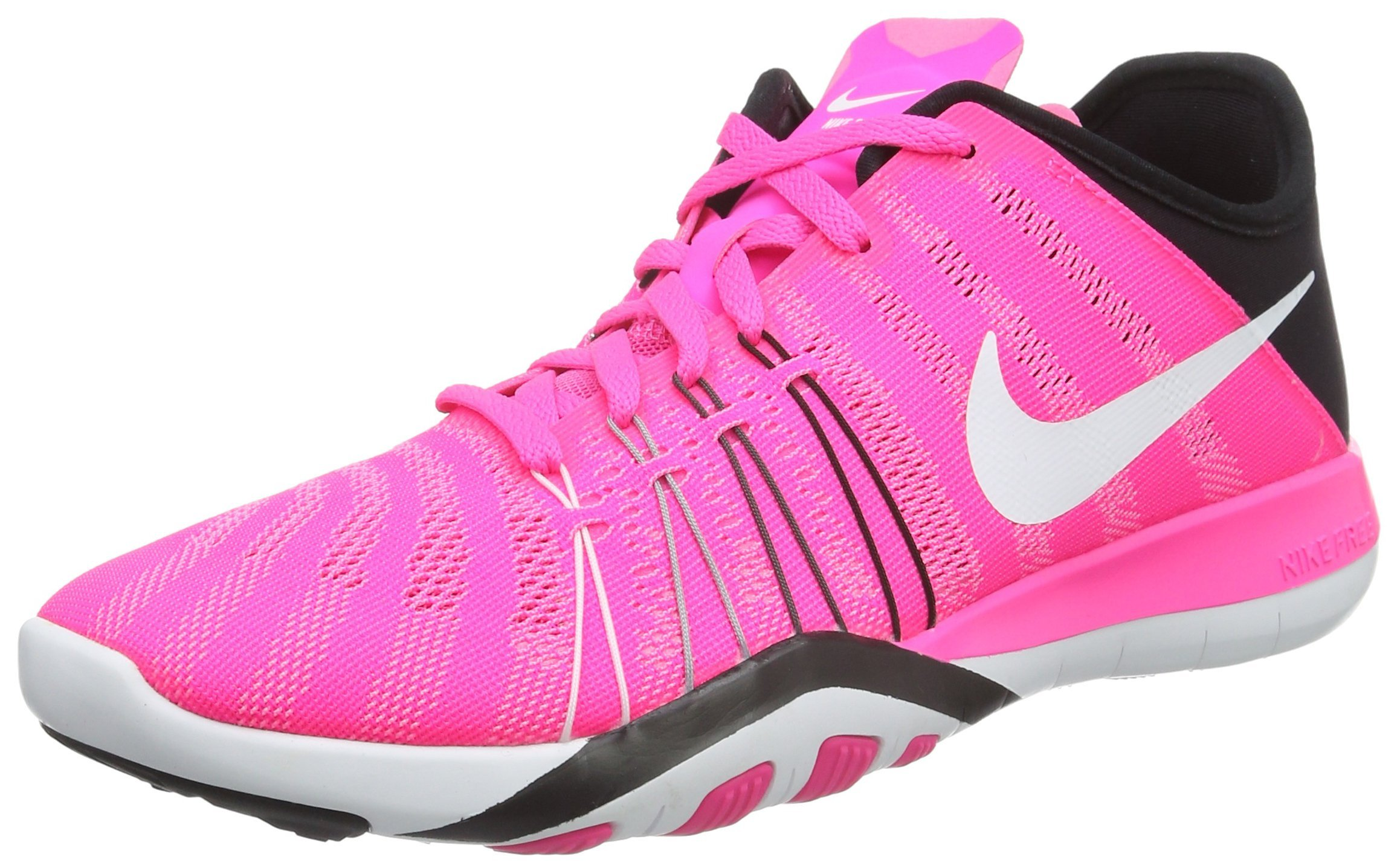 d433a7753f69 Galleon - NIKE Free TR 6 Women s Shoes Pink Blast Black White 833413-600 (8  B(M) US)