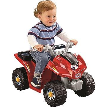 powerful Power Wheels Kawasaki Lil' Quad