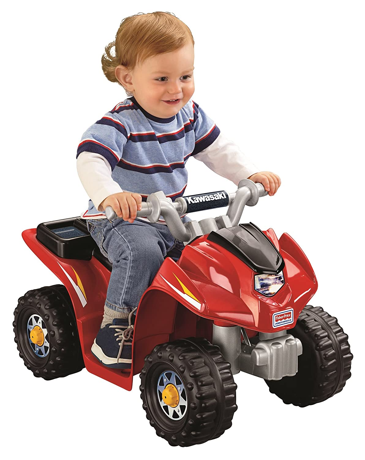Amazon com: Power Wheels Kawasaki Lil' Quad: Toys & Games
