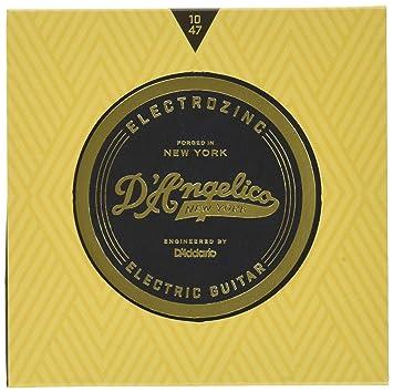 DAngelico Electrozinc Jazz 10-47 Cuerdas para guitarra eléctrica extra ligeras