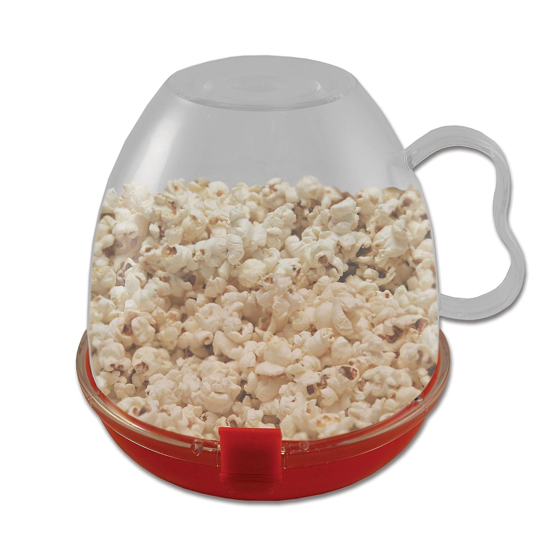 Casa Cocina Microondas Cuenco (de palomitas popcorn maker): Amazon ...