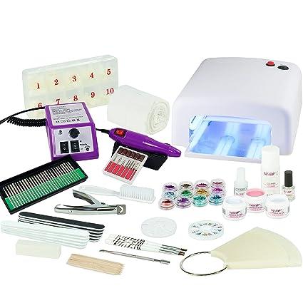 N & BF – Set de manicura para principiantes - Kit para uñas ...