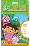 LeapFrog ClickStart Educational Software Dora the Explorer Friends ¡Amigos!