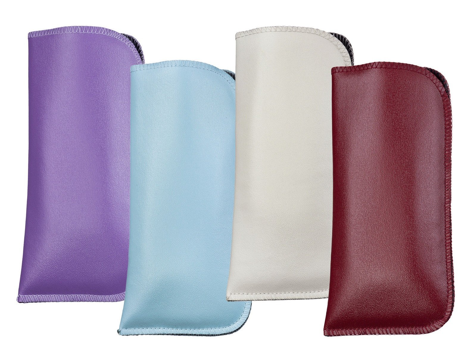 100Pack Glasses Soft Case - Large Slip In Protective Sleeves - 80x160mm by Capri Optics