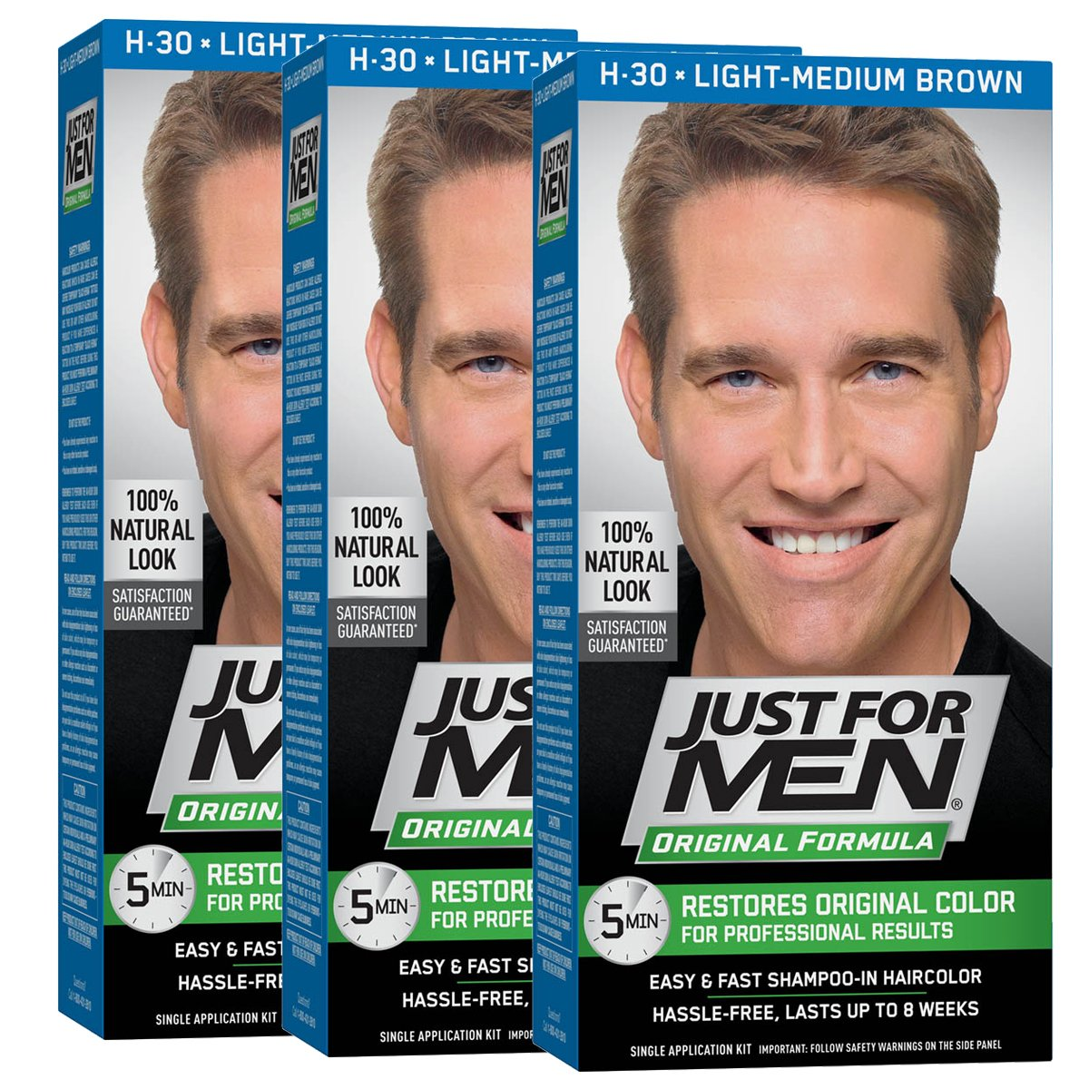 Amazon Just For Men Autostop Mens Comb In Hair Color Light