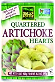Native Forest Artichoke Hearts Quartered, 14 Ounce Cans (Pack of 6)