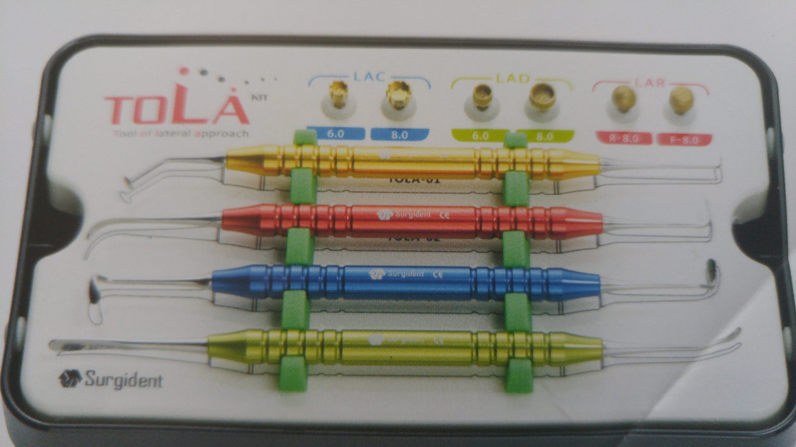Surgident Dental TOLA-KIT( Tool of Lateral Approach )