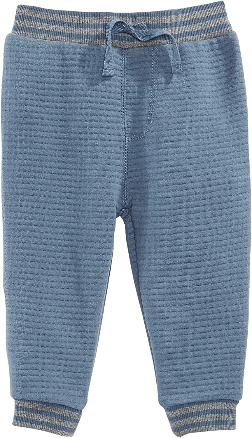 First Impressions Baby Boys Quilted Jogger Pants Blue