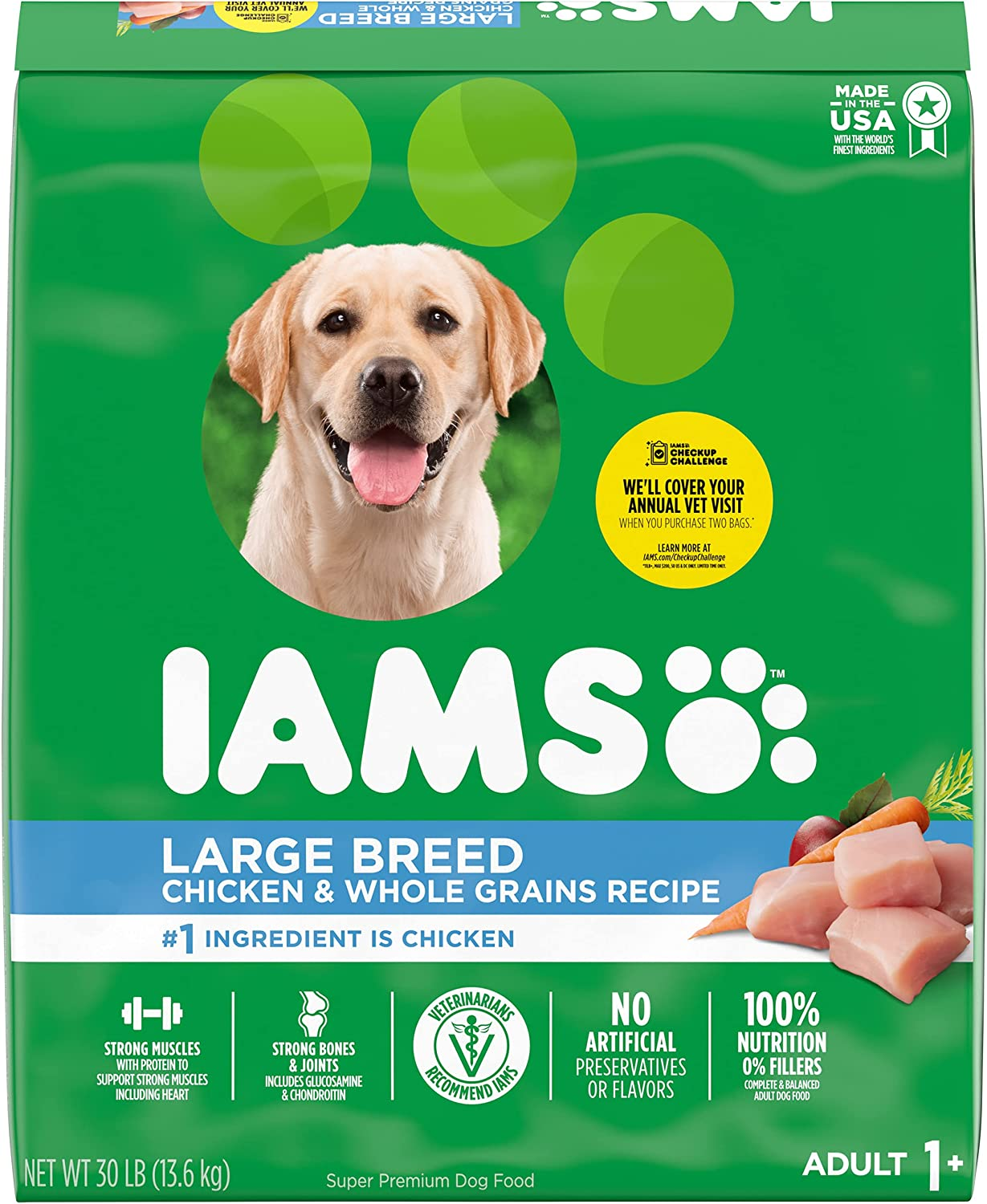 IAMS Proactive Health Adult High Protein Large Breed Dry Dog Food