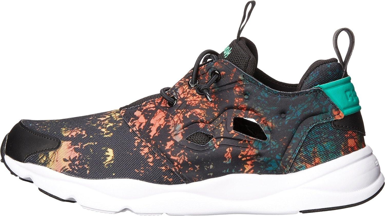 881c52f41a2 Reebok Lifestyle Women s Furylite SR Black Poppy Red Night Violet White  Sneaker 9 B (M)  Amazon.co.uk  Shoes   Bags