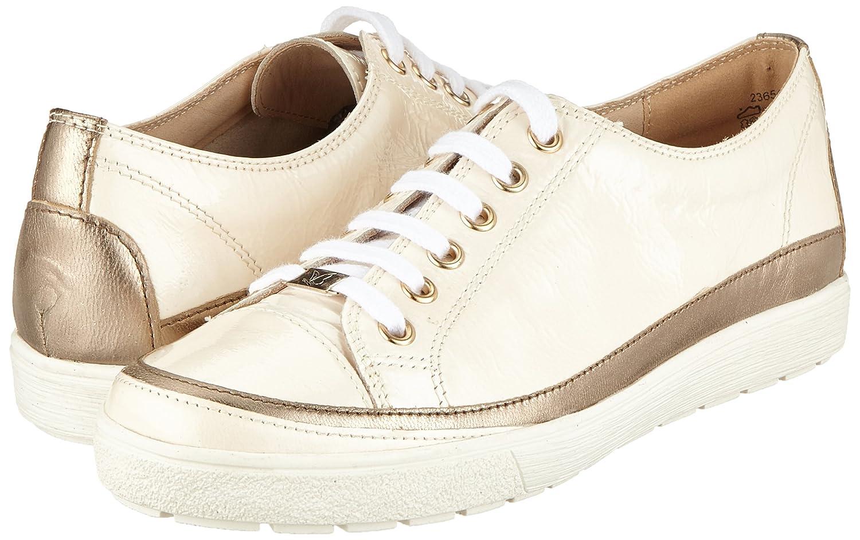 Caprice Damen 23654 Derbys, 150) Weiß (Cream Napl Mud 150) Derbys, a581fd
