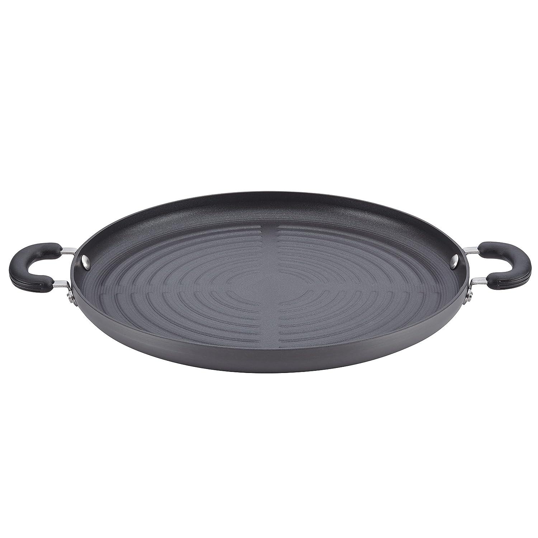 Circulon 83851 Classic Cookware Jumbo Grill Pan, Medium, Gray