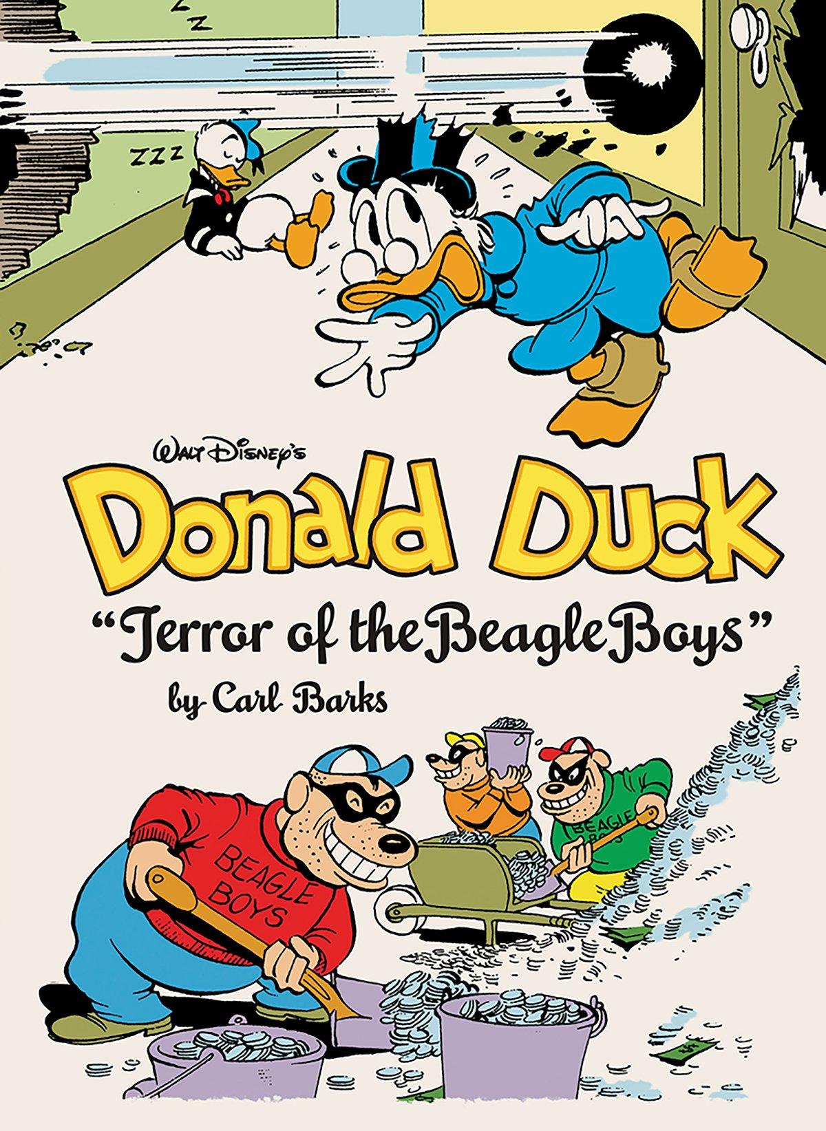 amazon com walt disney u0027s donald duck terror of the beagle boys