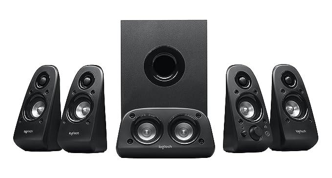 2310d97afc2 Amazon.com: Logitech Z506 Surround Sound Home Theater Speaker System:  Electronics